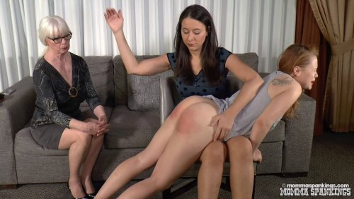 Spanked By Teacher; Spanked By Mom