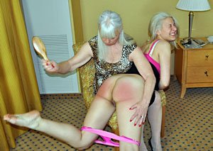 An Old Fashioned Spanking DVD